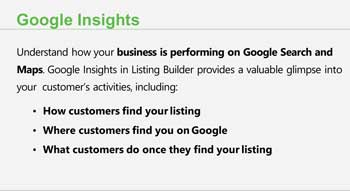Get Google Insights and Analytics connected to your account